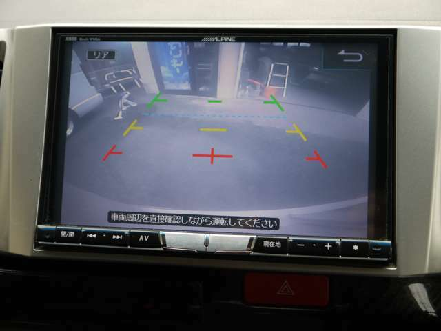 アルパイン製8型ナビ&フルセグ地デジにDVDビデオ視聴可能★ブルートゥース機能付★バックカメラ★アルパイン製ビルトインETC