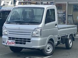スズキ キャリイ 660 KCエアコン・パワステ 3方開 届出済未使用車 パワーステアリング