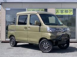 ダイハツ ハイゼットデッキバン 660 G SAIII 4WD リフトアップカスタムデモカー