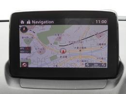 マツダコネクトには純正のメモリーナビゲーションが装備されています!タッチパネルとコマンダーで操作でき、慣れればブラインドタッチでナビ、オーディオ、車両情報など多彩なコンテンツを操作できます!