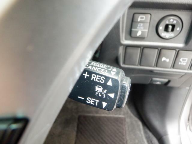 高速道路走行時や、長距離運転の際にサポートしてくれるクルーズコントール付き!!
