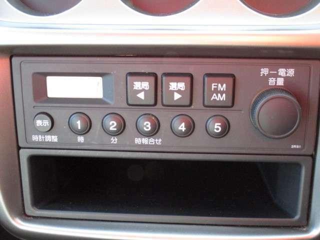 純正ラジオ(機能詳細は製造元HPをご参照下さいませ)