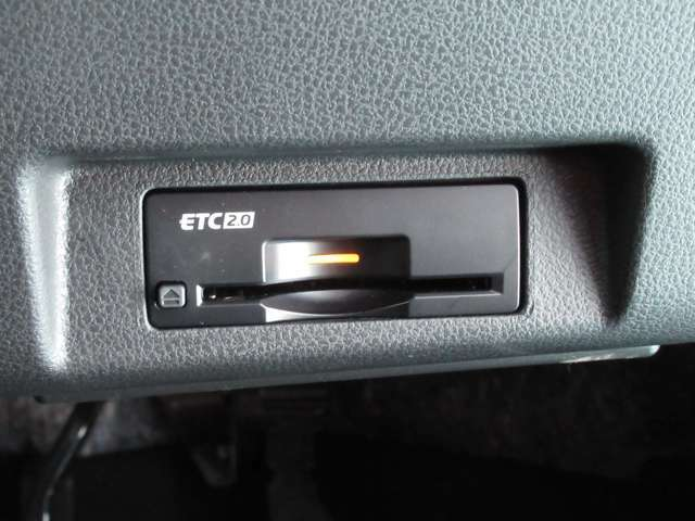 高速走行をサポートETCは2.0対応