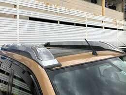 エクストレイルの大人気装備 ハイパールーフレール装着のお買い得な1台!
