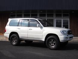 トヨタ ランドクルーザー100 4.2 VX ディーゼルターボ 4WD 新品リフトUP製作車 背面無 マルチ無