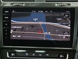 9.2インチ純正インフォテイメントシステムの「DiscoverPro」です。地デジTV、CDDVDプレーヤー、FMAMラジオ、Bluetoothオーディオも完備です。