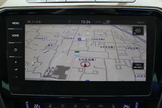 純正インフォテイメントシステム「ディスカバープロ」はナビゲーションをはじめオーディオ機能や車両の情報等集約したシムテムです。