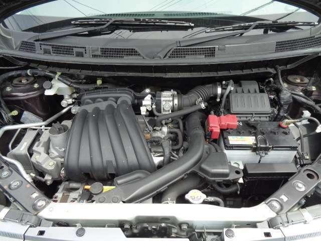 ■エンジンルームもオイルにじみや漏れ、フレーム周りやメンバーなどの錆無く綺麗です☆