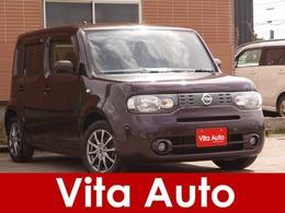 日産 キューブ 1.5 15X FOUR Vセレクション 4WD インテリキー 社外アルミ