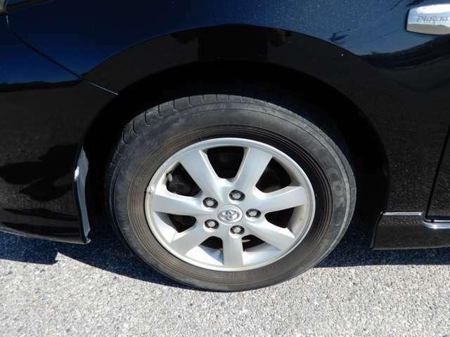 タイヤもまだまだいけます