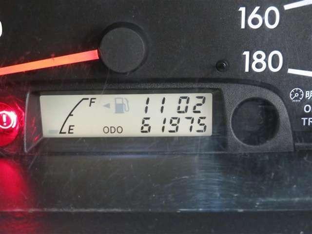 走行距離約62000キロ! まだまだこれからのおクルマですので、ぜひ大切に乗ってあげてください☆