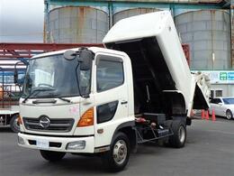 日野自動車 レンジャー フジマイティ パッカー車 塵芥車 8立米 ダンプ式 積載2650kg 煤焼ナシ