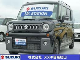 スズキ スペーシア 660 ギア ハイブリッド XZターボ 4WD 全方位カメラ搭載車