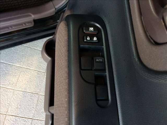 ラクラク操作のパワーウインドウ付きです。運転席はワンタッチオート機能付きです。また、電動格納ドアミラーも装着、狭い駐車スペースなどでの使用時に大変便利です。★☆★☆★
