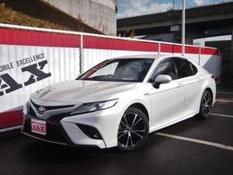 トヨタ カムリ 2.5 WS レザーパッケージ ワンオーナー皮シート禁煙衝突軽減ブレーキ