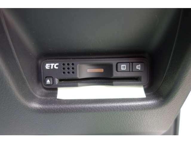 ETC車載器装備!!高速道路には欠かせないアイテム。