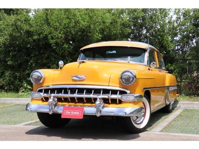 1954y シボレー ベルエア ETC CDデッキ ワンオフマフラー 入庫致しました!