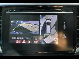 全周囲カメラを装備しておりますので車庫入れが不安な方でも後方確認が容易に行えます。
