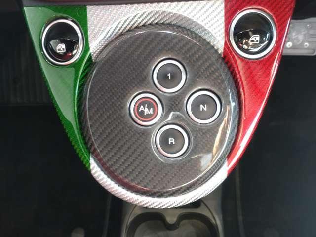 ATモード付で、手動・自動の切り替え可能な5速シーケンシャルトランスミッション。(AT)