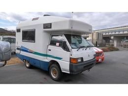 三菱 デリカトラック キャンピング車 4WD 5速MTマニュアル バンテック製 6人乗り トイレ 流し台冷蔵庫