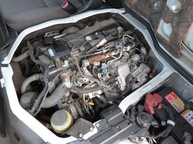 熟成されたトヨタのディーゼルターボエンジンです