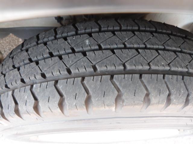 タイヤの溝もまだまだ残っています。