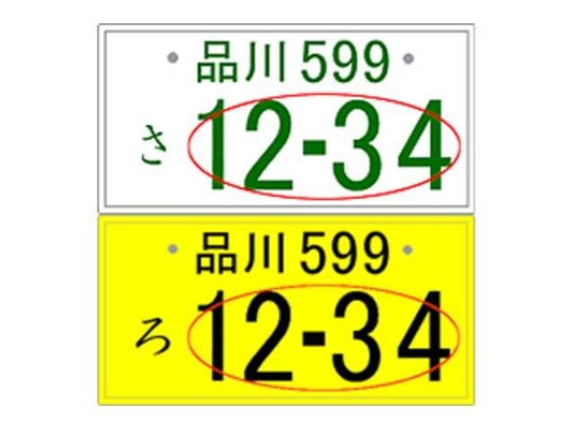 Aプラン画像:4ケタ以下のアラビア数字(一連指定番号)の部分のみ自由に選べます。希望番号には抽選対象希望番号と一般希望番号があります。抽選対象番号の場合、当選した場合のみ取得可能です。
