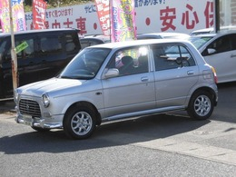 ダイハツ ミラジーノ 660 4WD 社外アルミ CD