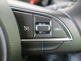 【クルーズコントロール】通常走行中に、ドライバーが速度設定指示をすれば、その速度が記憶され、定時走行ができます。そのため高速道路でのドライバーへの負担が減りますので長距離運転が楽になります♪