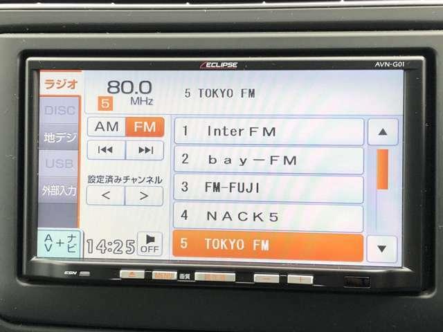 フルセグTV&CD再生&外部入力!
