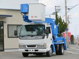 いすゞ エルフ 11.9m 高所作業車 アイチSS12A
