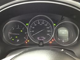 大きく見やすいスピードメーターです。視線の移動が少なく安心安全!