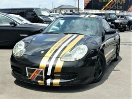 ポルシェ 911 カレラ4 ティプトロニックS 4WD GT3仕様 ポルシェデザイン 社外マフラー