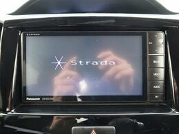 社外SDナビ『嬉しいナビ付き車両ですので、ドライブも安心です☆DVD再生、Bluetooth接続可能♪フルセグTV付きです!』