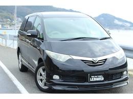 トヨタ エスティマハイブリッド 2.4 G 4WD HDDナビ 後席フリップダウンモニター