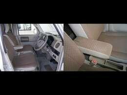 シートはワゴンと同じものを採用されたグレードのバスターです。