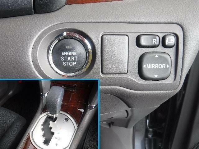 カバンやポケットなどにキーを入れたままでもドアの施錠・解錠や、エンジンの始動をワンプッシュで行うことが可能です。