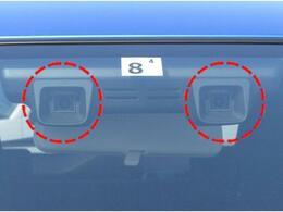 デュアルカメラブレーキサポート(DCBS)フロントガラス上部に設置されたステレオカメラで車輛前方の状況を感知し各種制御を行います。