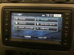 CD/DVD/ワンセグ視聴可能です!