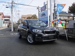 BMW X1 xドライブ 18d 4WD インテリジェントセーフティー 純正ナビ