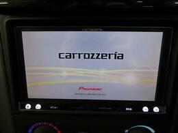 カロッツェリアSDナビを装備でロングドライブも快適です。TV再生可能!
