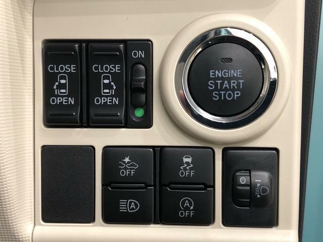 各機能のスイッチ類がハンドル右下部に集約され、操作性に優れています♪
