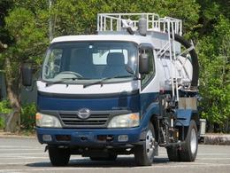 日野自動車 デュトロ 2.3t バキュームダンパー モリタ