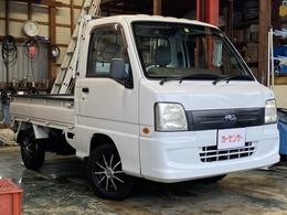 スバル サンバートラック 660 TCプロフェッショナル 三方開 4WD 社外アルミ付 エアコン 車検R4年4月