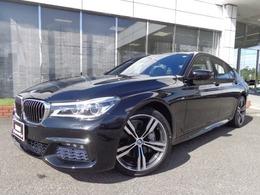 BMW 7シリーズ 740d xドライブ Mスポーツ ディーゼルターボ 4WD 20AW黒革SRハーマンカードンデモカー認定車