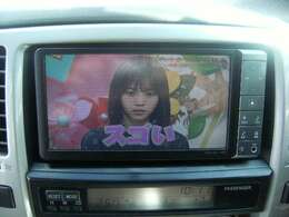 純正HDDナビ(DVD映像再生可能)フルセグTV CD
