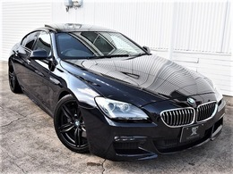 BMW 6シリーズグランクーペ 640i Mスポーツパッケージ HDD/地デジ/Bモニ/ハーフレザー/SR/19AW