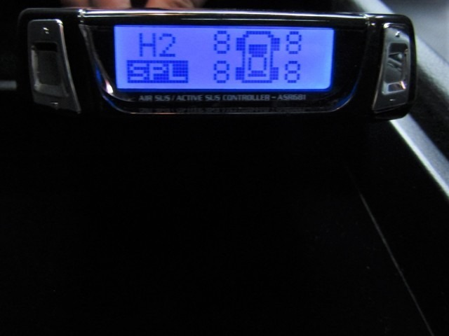エアサス・アクティブサスコントローラーがついています!車外からでも目視でも車高を自由自在にコントロールでき、思いのままのスタイリングを実現!