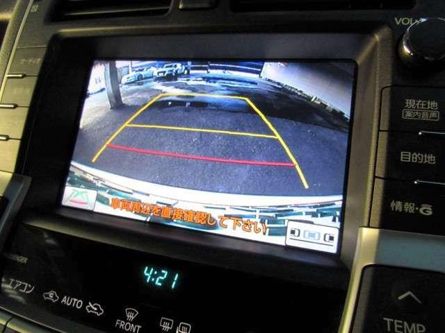 バックガイドモニター搭載で、駐車時もラクラク安心!駐車場内での事故防止にもなりますね!!