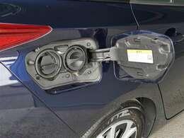 駆動用バッテリーの充電ポートになります。